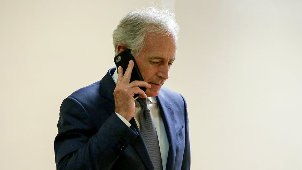 Corker asks how real-estate provision ended up in tax bill