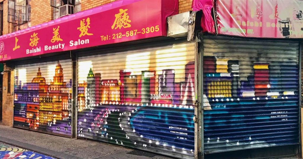 After 20 years in real estate, this Chinatown resident is turning to art to reclaim the neighborhood