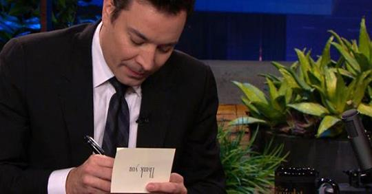 """7 Hilarious Jimmy Fallon-Style """"Thank You"""" Notes From Real Estate Agents"""