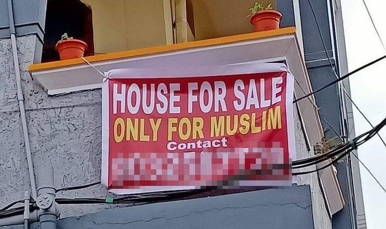 Properties made available for sale or rent only to Muslims appear on several real estate portals
