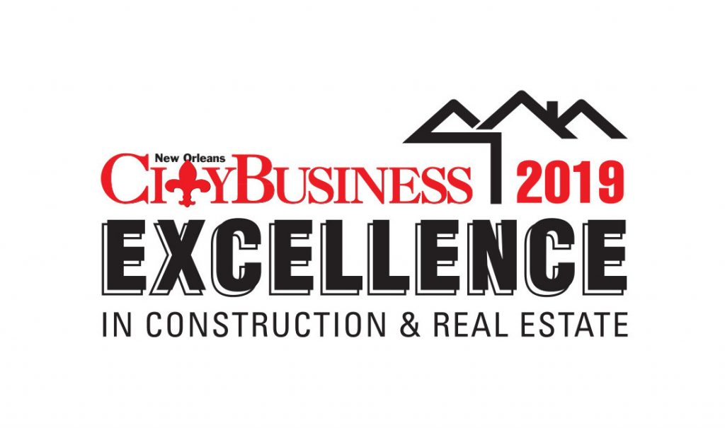 Honorees chosen for 2019 'Excellence in Construction and Real Estate' class – New Orleans CityBusiness
